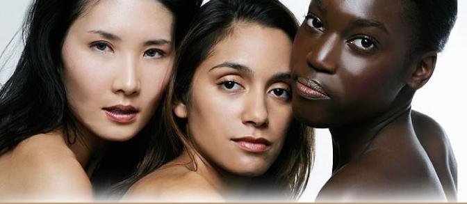 美國的有色人種,暴露在較高的化妝品風險中